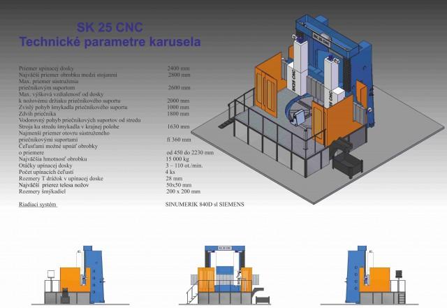 Machine tool SK 25 CNC